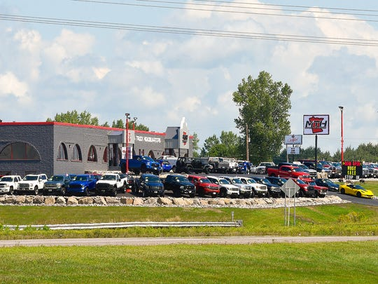 Minnesota Truck Headquarters recently moved into their new location on Minnesota Highway 23 shown Friday, Aug. 11, in St. Cloud. The business has consolidated their locations into the former Honda House location.