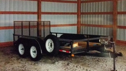 This trailer was stolen April 15 and the MCSO is asking for the public's help in locating it.