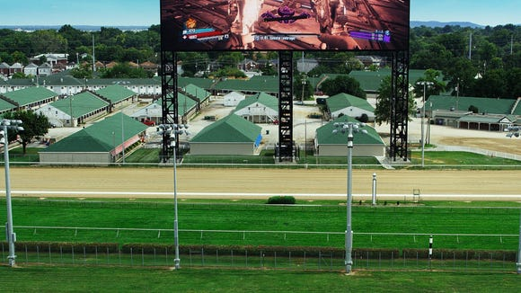 Big Board at Churchill Downs used to set Guiness record.