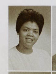 LInda Brown's 1961 Central High School yearbook photo.