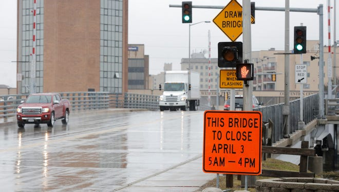 Bridges in Oshkosh, Winneconne and Menasha will be closing during the next couple weeks for maintenance and cleaning. The Main Street bridge in Oshkosh will be closed from 5 a.m. to 4 p.m. April 3.