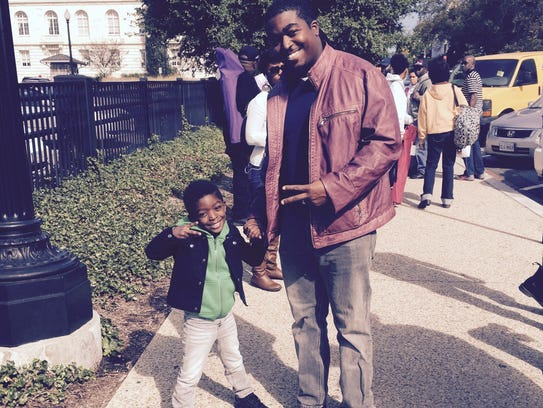 Rev. Ronald Bell, Jr., a 34-year-old pastor from Wilmington,