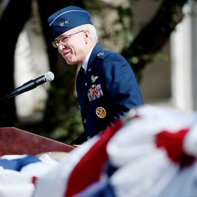 Rick Devereaux, retired Major General in the Air Force,