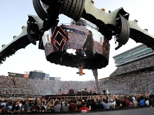 U2's 'The Claw' brought to MSU's Spartan Stadium may be