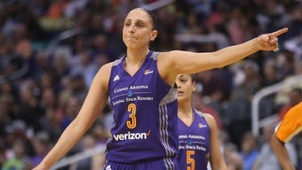 Phoenix Mercury star Diana Taurasi passed Tina Thompson as the WNBA's career scoring leader.