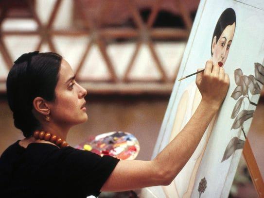Salma Hayek as Frida Kahlo in 'Frida.'