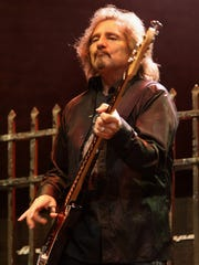 Black Sabbath bassist Geezer Butler was hit in the head with a bottle, prompting an abrupt end to a show in Milwaukee in 1980.