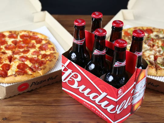 The downtown Phoenix Pizza Hut was the first to test out beer deliveries in the Phoenix area.