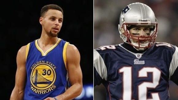 Stephen Curry and Tom Brady will have far more in common if Golden State falls short of winning an NBA title after a record-setting regular season.