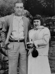 Charles Sullivan and Mary Daddona took their first date at the Watkins Glen gorge.