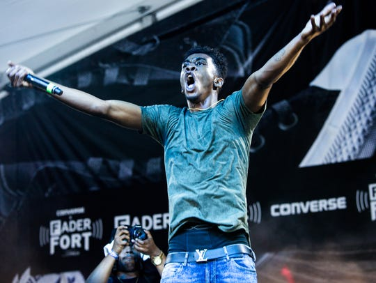 Desiigner, performing onstage in March during SXSW