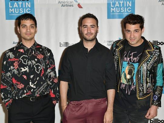 "Reik: Gilberto ""Bibi"" Marín (from left), Jesús ""Chuy"""