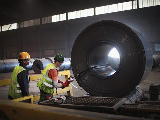 American steel: The 25% tariff on steel has bolstered