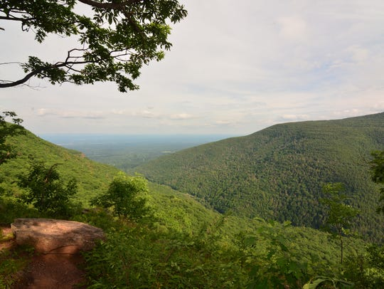 Inspiration Point is one of six views along the trail.