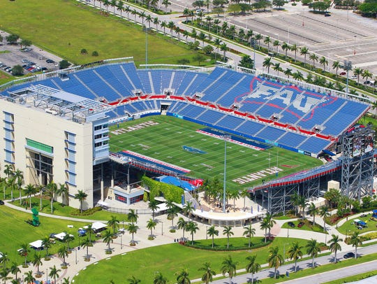 FAU Stadium, home of the Florida Atlantic Owls, is