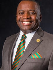Lt. Col. Gregory Clark, president of the FAMU National Alumni Association