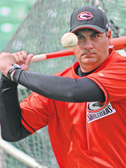 Delmarva Shorebirds' manager Ryan Minor