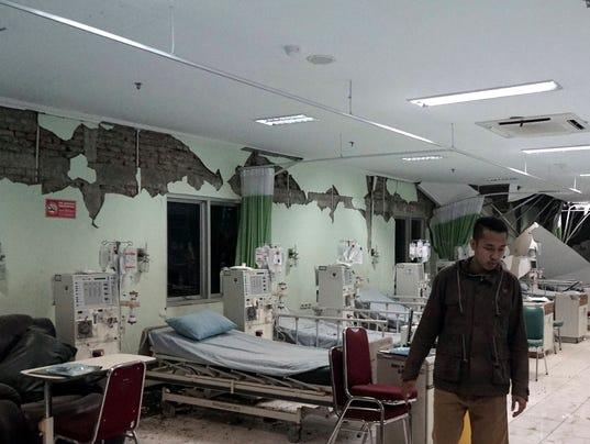 EPA INDONESIA EARTHQUAKE JAVA DIS EARTHQUAKE IDN CE