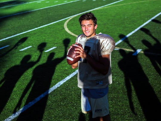 Arlington's Tate Kolwyck will quarterback the Blue team at this year's AutoZone Liberty Bowl high school all-star game.
