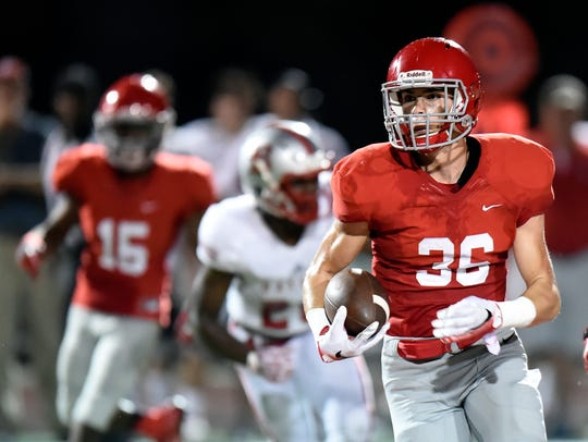 Brentwood Academy's Evan Beddoe has committed to Air