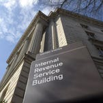 The IRS building in Washington.