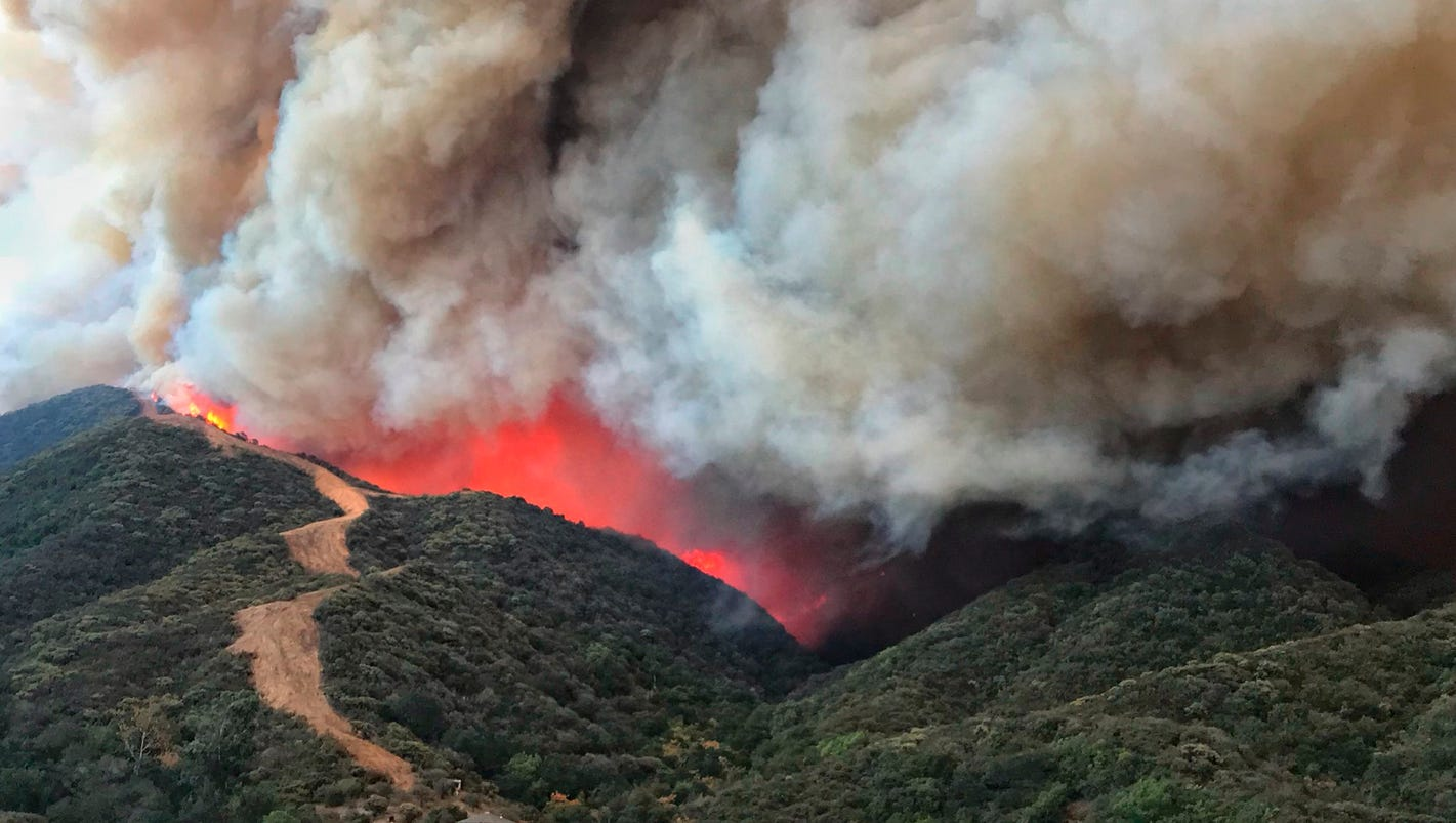 'Beyond a perfect storm': Wind-driven California fire nears record
