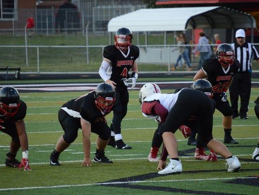 Harding quarterback Noah Thompson