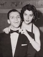Frank Sinatra with his second wife, Ava Gardner, in
