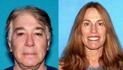 Former Rancho Mirage doctor David Morrow and his wife, Linda Morrow, are at large after missing federal court appearances related to a fraud investigation that bilked insurance companies of millions of dollars.