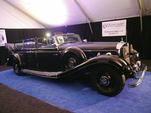 Hitler's 'Super Mercedes' gets $7M bid, but doesn't meet