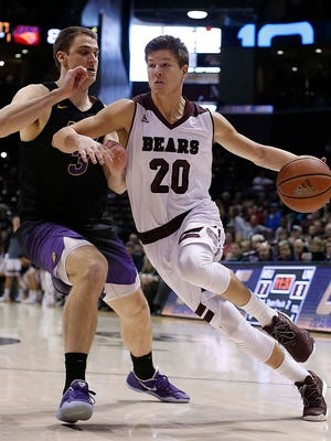 Missouri State's Ryan Kreklow scored a career-high 20 points in Tuesday night's game against Colorado State.