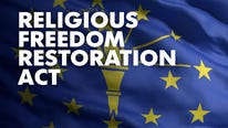 Three sex offenders cited Indiana's Religious Freedom Restoration Act to attend church even if children are present to attend Sunday school.