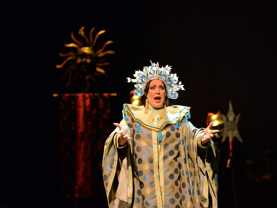 "A love triangle, a horror story, a swan song  ""Turandot"" packs all these into its hearty story."