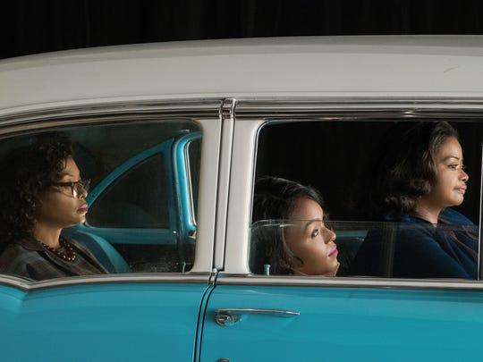Taraji P. Henson (from left), Janelle Monae and Octavia