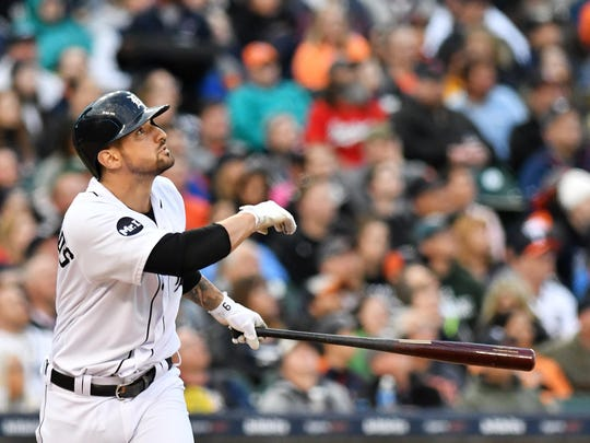 Tigers outfielder Nick Castellanos will be one of the