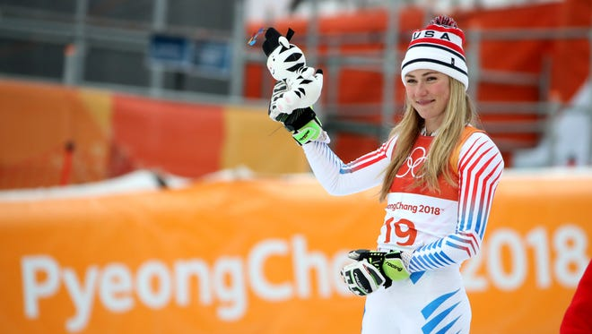 Mikaela Shiffrin of the USA took silver in the women's combined.