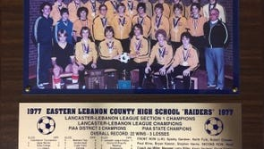 The 1977 Elco boys soccer team captured the program's first state championship. On Saturday, the team will celebrate the 40th anniversary of its championship run while also hosting a fundraiser to benefit Elco soccer alum Kenny Hibshman.