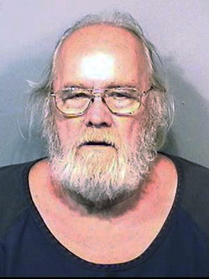 This Monday, May 4, 2015, booking photo released by the Brevard County (Fla.) Sheriff's Office shows Harold Frank Freshwaters, 79, of Akron, Ohio, who arrested Monday by U.S. Marshals in Melbourne, Fla. Freshwaters, convicted of voluntary manslaughter for killing a pedestrian with his car in 1957, initially received a suspended sentence but was imprisoned in 1959 for a parole violation. He fled a prison farm in northwest Ohio later that year.