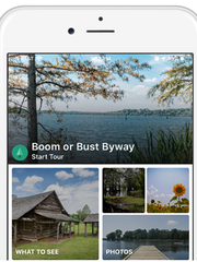 The Shreveport-Bossier Convention and Tourist Bureau has developed a free, GPS-navigated app that guides users to rural attractions, restaurants, museums, parks and more along the Boom or Bust Byway.