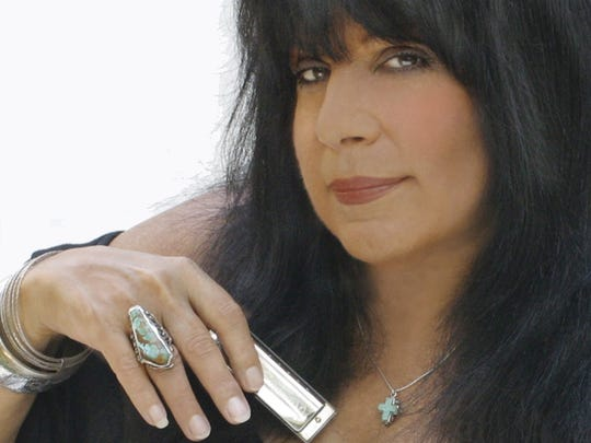 Singer and musician Roxy Perry performs at Yonkers