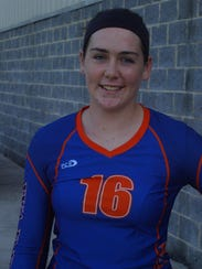 Grace Christian volleyball player Marigrace Grow on