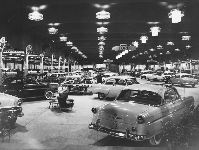 The indianapolis auto trade association and 65 member dealers staged