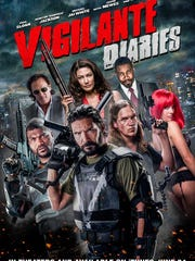 """Poster of """"Vigilante Diaries""""  directed by Christian Sesma."""