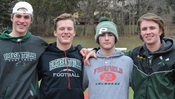 Pleasantville has four senior captains this season,