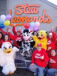 Stew Leonard's stores are known for their costumed
