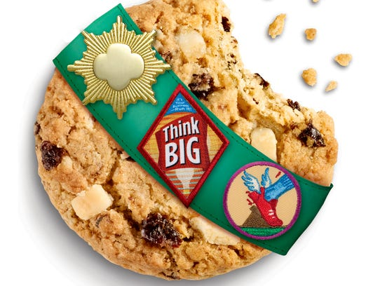 girl scouts offering three new cookies including gluten
