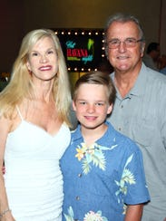 Paula and Carl Karcher with their son Max