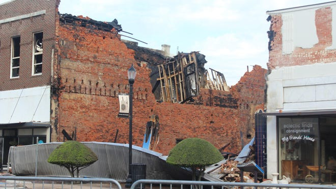 It is still difficult to put a cost to the Oct. 9, 2019 downtown Denison fire.