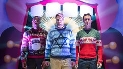 We're dreaming of a Rogen Christmas.