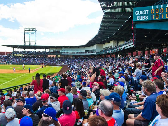 The Chicago Cubs' new spring-training home, seen here